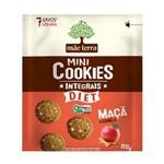 Cookies Orgânicos Diet Sabor Maçã Mãe Terra 120g