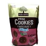 Cookies Orgânicos Light Sabor Cacau e Coco Mãe Terra 120g
