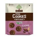 Cookies Orgânicos Sabor Cacau e Castanhas Mãe Terra 120g
