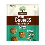 Cookies Orgânicos Sabor Coco e Castanhas Mãe Terra 120g