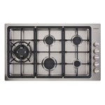 Cooktop a Gás com 5 Queimadores Prime Cooking Cuisinart -220v Plf950sltx-E