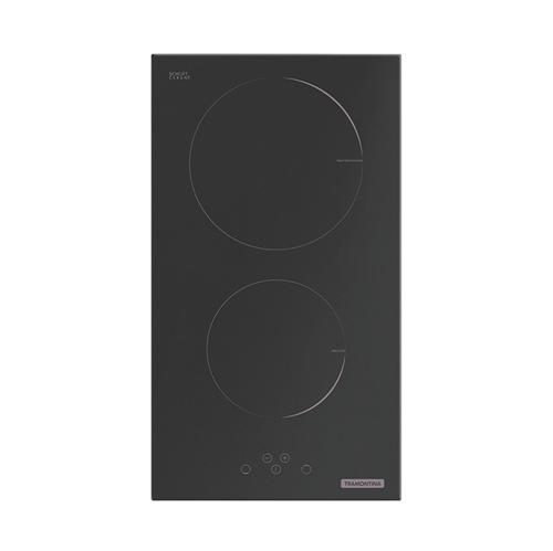 Cooktop por Indução Vitrocerâmico Domino com 2 Áreas de Aquecimento e Comando Touch 30cm - 94750/220 - Tramontina - Tramontina