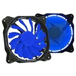 Cooler 120x120mm DEX DX-12F - LED Azul