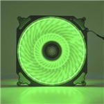 Cooler Fan 120mm 32 Leds Extra Forte Dx-12h Verde