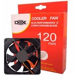 Cooler Fan para Gabinete 120mm DC12V DEX DX-12L