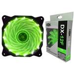 Cooler Fan com Led Verde Dx-12f