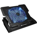 Cooler Notebook Tt Massive 23gt Black 20cm Fan Cln0020
