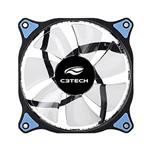 Cooler P/ Gabinete C3TECH F7-L130BL 120mm Led Azul | InfoParts