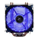 Cooler para Cpu Universal com 21 Leds Azul Dx-2021