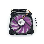 Cooler para Gabinete com Led Roxo Dx12f - Dex
