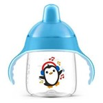 Copo Anti-Vazamento Pinguim 260ML Azul Philips Avent SCF753/05