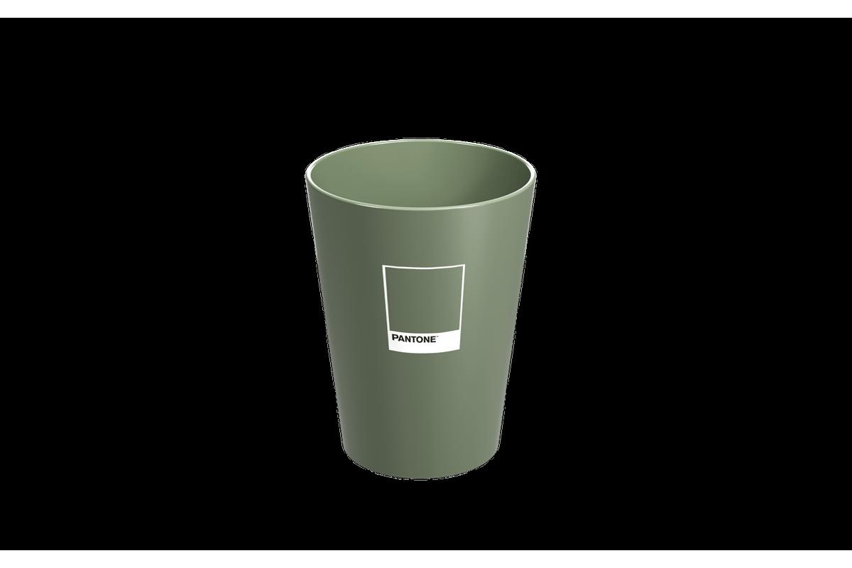 Copo Cônico 300 Ml Casual Verde Pantone Coza