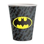 Copo Descartável Batman Geek 8uni - Festcolor