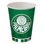 Copo Descartável Palmeiras 8uni - Festcolor