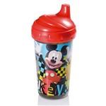 Copo Infantil Mickey com Bico Rigido 300ml Multikids Baby Azul
