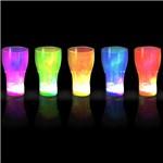 Copo Neon com Pisca Cores Sortidas Laranja U