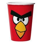 Copo Papel Descartável Angry Birds 330 Ml