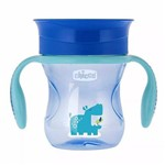 Copo Perfect Cup 200ml 360º Menino Azul 12m+ Chicco 695120