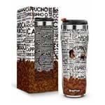 Copo Plast. Inox Temas New - Neutros - Café Carioca