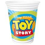 Copo Plástico 200ml Toy Story no Espaco com 8 Unidades - Regina Festas