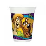 Copo Plástico Descartável Scooby Doo - 08 Unidades