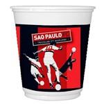 Copo Plástico São Paulo C/8 Unidades