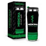 Copo Profissao Inox Medicina 450ml