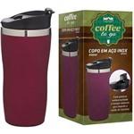 Copo Térmico Aço Inox 450ml Coffee To Go Rosa