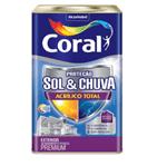 Coral Sol & Chuva Acrílico Total Premium 18 Litros Branco