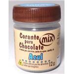 Corante em Pasta para Chocolate Azul 12g - Mix