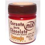 Corante em Pasta para Chocolate Laranja 12g - Mix
