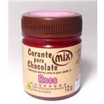 Corante em Pasta para Chocolate Rosa 12g - Mix
