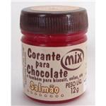 Corante em Pasta para Chocolate Salmão 12g - Mix