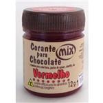 Corante em Pasta para Chocolate Vermelho 12g - Mix