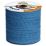 Corda Seda Trançada 10mm Azul com 100 Metros Arteplas