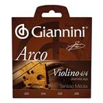Corda Violino Giannini Geavva Aço e Alumínio 4/ 4