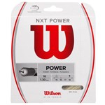 Corda Wilson Nxt Power 16l 1.30mm Champanhe - Set Individual