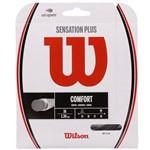Corda Wilson Sensation Plus 16l 1.34mm Preta - Rolo com 200 Metros