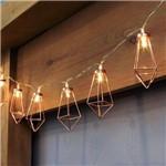 Cordão de Luz 10 Lâmpadas Geométrico