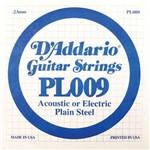 Cordas para Guitarra D`addario Pl009 Mi