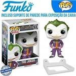 Coringa Joker Batman Arkham Asylum Funko Pop #53+ Suporte de Parede