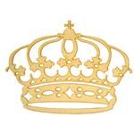 2 Coroas Provençal em Mdf Príncipe e Princesa Realeza