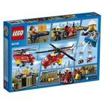 Corpo de Intervenção dos Bombeiros Vermelho e Preto Lego City