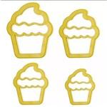 Cortador de Cupcake C/ 4 Pçs