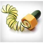 Cortador de Vegetais em Espiral A0127 Laranja Basic Kitchen