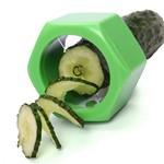 Cortador de Vegetais em Espiral A0127 Verde Basic Kitchen