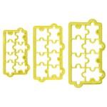 Cortador Geometrico Quebra-cabeca - 3 Pcs
