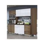 Cozinha Alice Demolição/Gelo 3D C/ Tampo Genialflex Móveis
