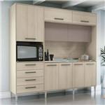 Cozinha Compacta 2,30m 9 Portas 4 Gavetas G780 Kappesberg - Kappesberg