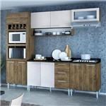 Cozinha Compacta 10 Portas Stella 0420t Demolição/Gelo 3d - Genialflex